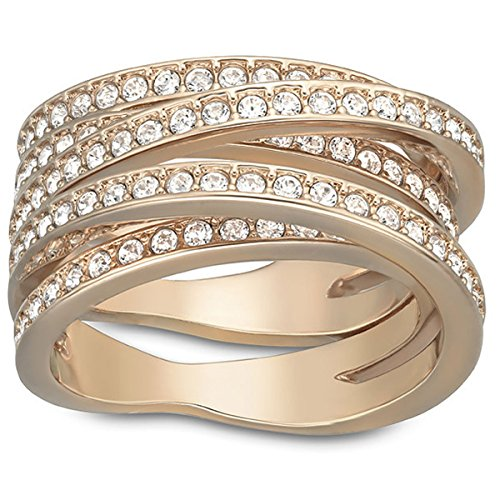 Swarovski Damen-Ring Glas transparent Gr. 52 (16.6) - 5063923