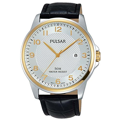 Pulsar Gents Two Tone Strap Watch