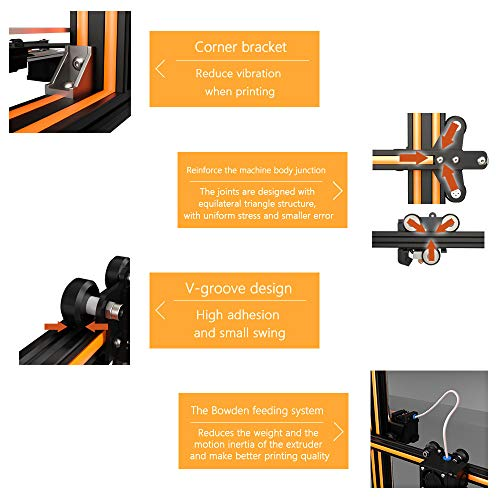 Aibecy Anet E16 DIY 3D-Drucker Hochpräzise Selbstmontage 300 * 300 * 400mm Große Druckgröße Aluminiumlegierung Rahmen LCD Display Auto Faden Fütterung - 3