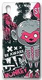 atFolix Sony Xperia Z5 Hülle - Bloody Monkey FX-Case Schutzhülle