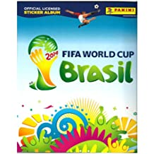 Fifa World Cup Brasil 2014 Official Licensed Sticker Album with 6 stickers included