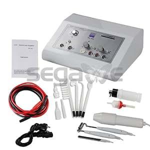 SEGAwe RU303 Appareil 4 en 1 Électrothérapie à haute fréquence + galvanisant + fonction aspirante + courant galvanique + fonction spray