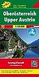 Oberösterreich, Autokarte 1:150.000, Top 10 Tips mit Radrouten, freytag & berndt Auto + Freizeitkarten: Toeristische wegenkaart 1:150 000 - Freytag-Berndt und Ataria KG