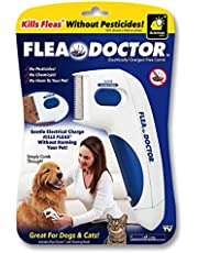 Flea Doctor | Electronic Flea Comb | Electric Comb | Electric Comb for Pets, Dogs, Cats | Without Pesticides | Naturally Kill Tick and Remove Fleas | Upgraded Noiseless Tool