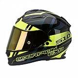 Scorpion Helm, Schwarz/Neon-Gelb, L