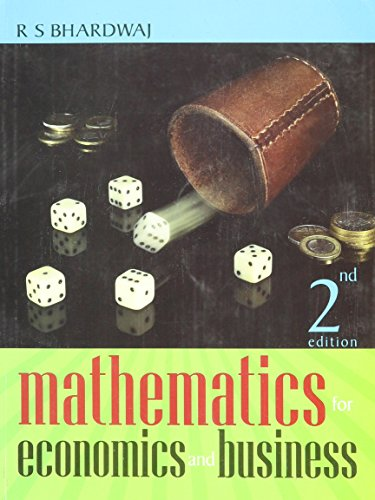 Mathematics for Economic and Business