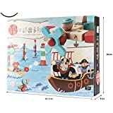 Adichai Building Blocks Classic Series Variety Assembling Combination Of Wooden Children 's Educational Toys Kids Gift,Make Warships,Animals,Aircraft,Objects,etc
