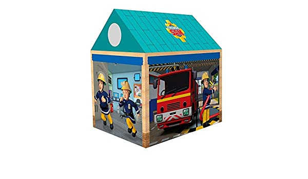 Fireman Sam - Children Tent for Garden and C&ing Fire Station Amazon.co.uk Toys u0026 Games  sc 1 st  Amazon UK & Fireman Sam - Children Tent for Garden and Camping Fire Station ...