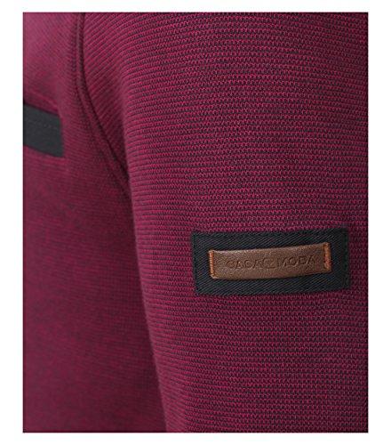 CASAMODA Herren Sweatshirt Violett (pflaume 973)