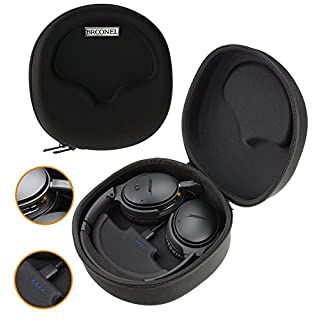 Broonel Hard Headphones Case / Cover With Built in 2500mAh Power Bank For allimity Active Noise Cancelling Bluetooth Headphones
