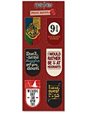 Mc Sid Razz Harry Potter Pack of 6 Magnetic Bookmarks | Gift for Readers and Book Lovers| Best Christmas Gift -Officially Licensed by Warner Bros USA