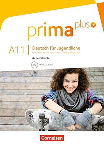Prima Plus A1.1 Ejercicios (Incluye CD) por Aa.Vv.