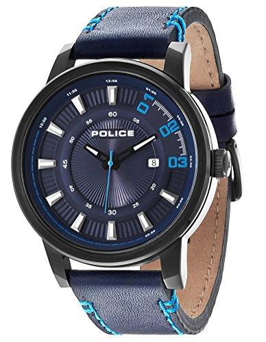 Police Herren-Armbanduhr Analog Quarz P14375JSB-03