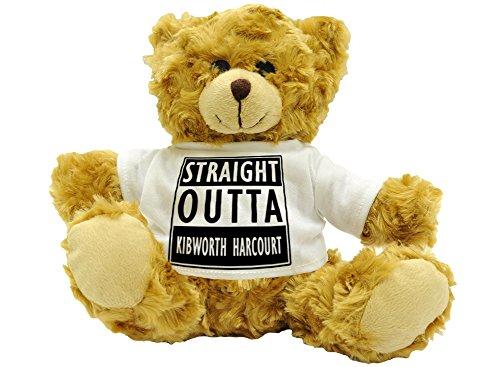 straight-outta-kibworth-harcourt-stylised-cute-plush-teddy-bear-gift-approx-22cm-high