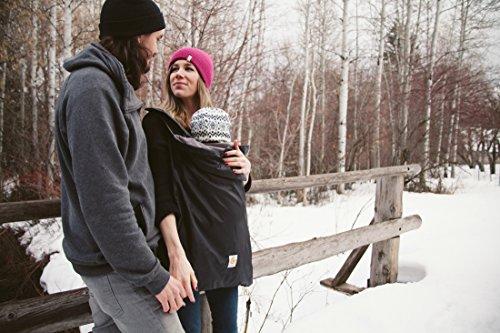 Ergobaby Winter Cover, schwarz - 6