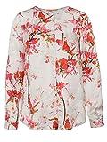 BOSS Orange Damen Regular Fit Bluse Eflo, Gr. 38, Mehrfarbig (Open Miscellaneous 990)