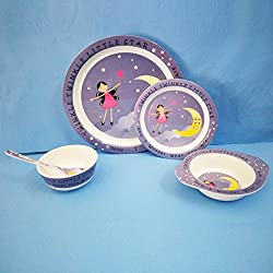 Dream Gifts / Diplomat Royal Melamine Kids Dinner Set 5pcs.