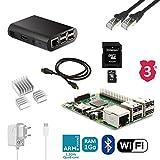 Starter Kit Raspberry 3B Komplettset (Netzteil, Gehäuse, Kabel...)