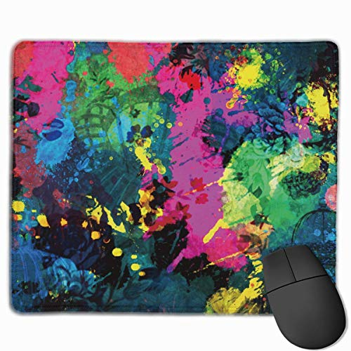 nk Quality Comfortable Game Base Mouse Pad with Stitched Edges Size 11.81 * 9.84 Inch ()