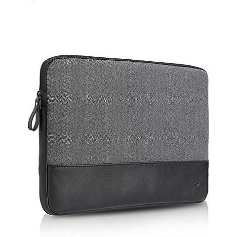 Gearmax Laptop Sleeve para MacBook 1112131415pulgadas Case Funda de fieltro para MacBook Pro 15Retina negro 15 pulgadas