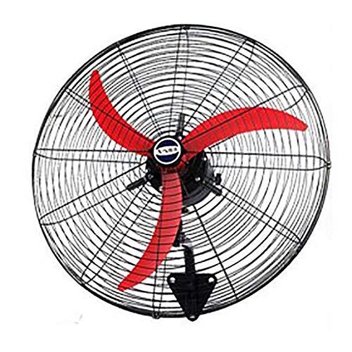 Ventilador Industrial, Todo El Acero Oscilante - Ventilador De Pared Industrial De...