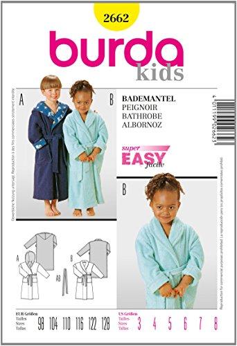 Burda Patrón 2662 Kids Albornoz