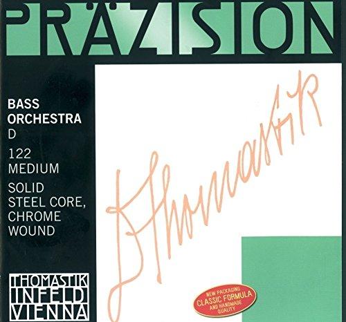 St Präzision Cello Saiten, komplett Set, stark (Heavy) Tension, 102, 4/4Größe, Stahl Core chrom Wunde (Cello Saiten Set 4 4)