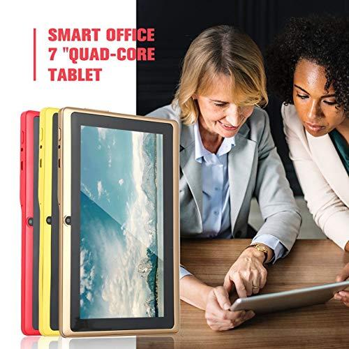 Elviray 7 Zoll Viererkabelkern-Tablet-Computer Q88h All-in A33 für Android 4.4wifi Internet Bluetooth 512mb 4g / 8g Bequem Flat-panel-cpu-adapter
