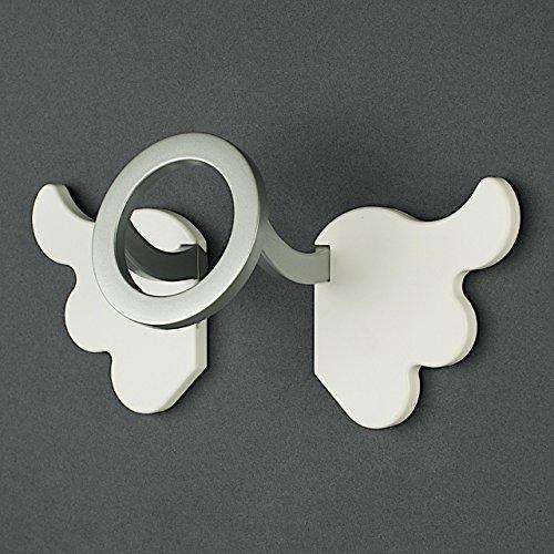Attaccapanni In Plastica.Appendiabiti Angel By Kreall Bianco Attaccapanni Da Parete In