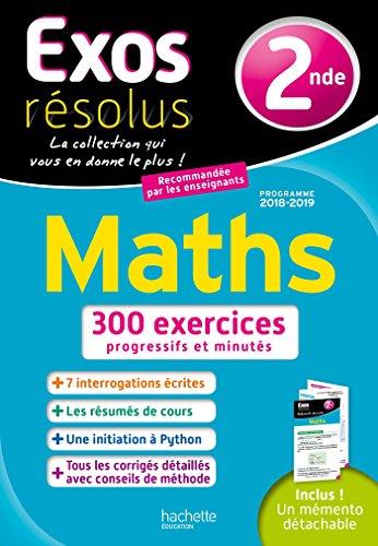 Exos Résolus Maths 2nde par Lydia MISSET ROCHEROLLE