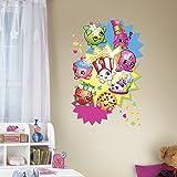 RoomMates rmk3156tb Shopkins Burst schälen und Stick Giant Wall Decals