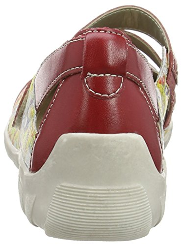 Remonte R3427, Ballerines femme Multicolore (fire/weiss/rot-multi / 33)
