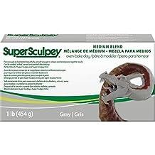 Que la Original ssmed1Super Sculpey arcilla gris 15,08X 7,62X 3.97cm)