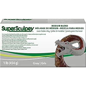 That's Original SSMED1 Super Sculpey Argile Gris 15,08 x 7,62 x 3,97 cm