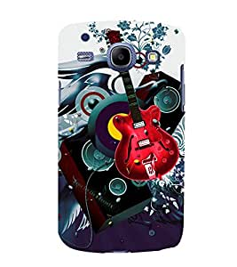 printtech Guitar Music Abstract Back Case Cover for Samsung Galaxy A5 / Samsung Galaxy A5 A500F
