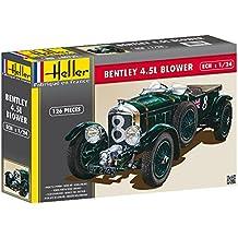 Heller 80722 - Modellino da costruire, Auto Bentley 4,5 L Blower, scala 1:24 [Importato da Francia]