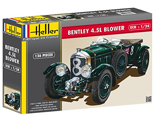 heller-80722-construction-et-maquettes-bentley-45-l-blower-echelle-1-24eme