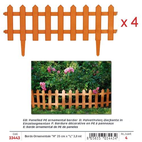 Bordura legno giardino prezzo migliore casa for Bordura giardino prezzo