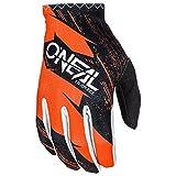 O'Neal Matrix Handschuhe Burnout Motocross MX DH Downhill Enduro Offroad Mountain Bike, 0388R-1, Farbe Orange, Größe L