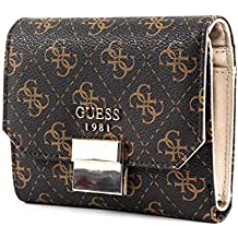 61d5565a8834 Guess Mia SLG Small Trifold Brown