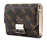 Guess Mia SLG Small Trifold Brown