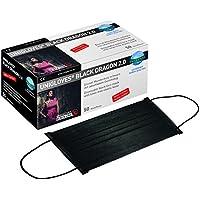 500 Stk. Unigloves Black Dragon Mundschutz Schwarz 4-lagig 10x50 Stück STAUBMASKEN / GESICHTSMASKEN preisvergleich bei billige-tabletten.eu