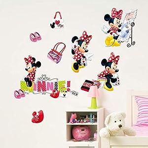 Wandtattoo Kinderzimmer Minnie Mouse günstig online kaufen | Dein ...