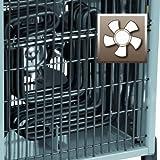 Einhell Elektro Heizer EH 5000 (5000 Watt, 2 Heizstufen und Ventilatorbetrieb, Thermostat, Spritzwasserschutz, Tragegriff, robustes Gehäuse) Test