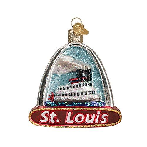 Old World Weihnachten St Louis Arch Glas geblasen Ornament