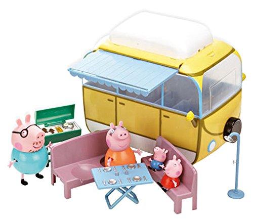 Peppa pig camper + 4 personaggi