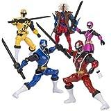 Power Rangers 43705Ninja Stahl 12,5cm,Ranger Figur, Model und Farbe sortiert