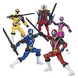 Power Rangers Ninja Steel - Figura acción Ninja Steel Ranger Blanco (Bandai 43705), Colores Surtidos