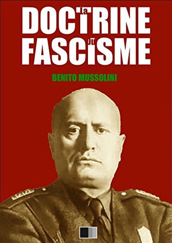 La Doctrine du Fascisme par Benito Mussolini