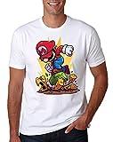 Die besten Brother T Shirts - LuckyTshirt Mario T Shirt Gaming Super Retro Luigi Bewertungen